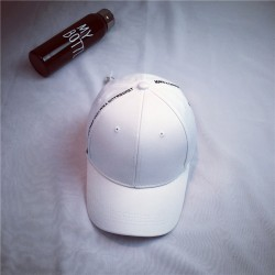 Стильная женская кепка - бейсболка MAKE A CHOICE  White