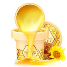 Парафиновая маска для рук Laikou Milk Hand Wax Honey, 120g