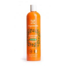 """Облепиховый """"Восстанавливающий"""", бальзам для окрашенных и поврежденных волос Organic Life 500 мл."""