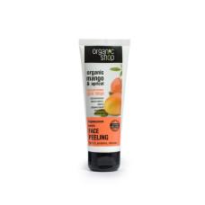 """Пілінг для обличчя """"Абрикосовий манго"""" Organic Shop Peeling Face 75 мл."""