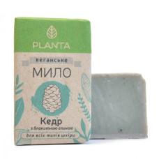 Натуральное мыло Planta Кедр, 100 г