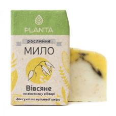 Натуральное мыло Planta Овсяное, 100 г