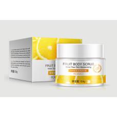 Фруктовий скраб для тіла Rorec orange scrub Апельсин, 120 г