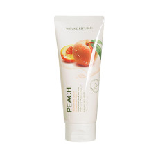 Пенка для умывания Nature Republic Fresh Herb Cleansing Foam Peach 170 мл