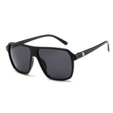 Мужские солнцезащитные очки Photometric Black lens -  №9706 Retro Big Box